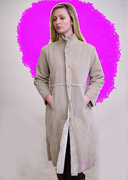 Higgs Leathers SOLD!  Pinga (ladies Faux Sheepskin coats)