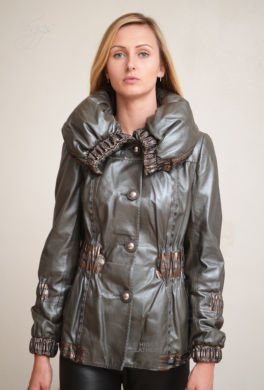 Higgs Leathers {SOLD!}  Delicio (ladies softest Designer Leather jackets) Very Special Designer Leather jackets!