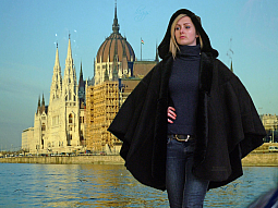 Higgs Leathers Zada (ladies Designer Shearling capes)