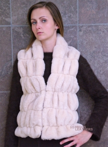 Higgs Leathers ALL SOLD!UNDER HALF PRICE!  Faline (ladies Faux Fur gilets)
