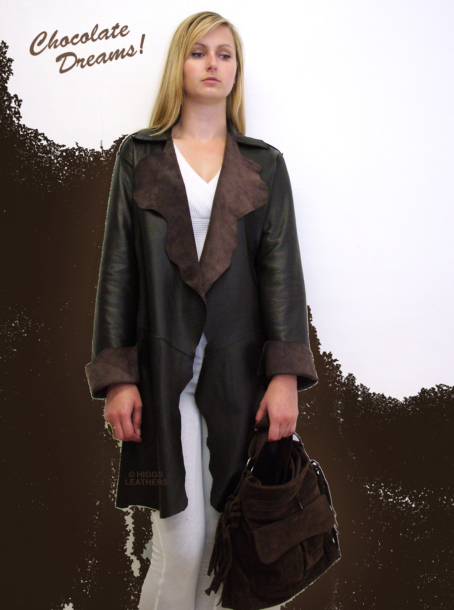 Higgs Leathers {ONE ONLY SAVE £120!}  Schula (ladies Nappa Leather Stroller jackets)