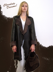 Higgs Leathers ONE ONLY SAVE £120!  Schula (ladies Nappa Leather Stroller jackets)