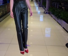 Higgs Leathers LAST FEW  SAVE £70!  Tracey (ladies leather bootleg trousers)