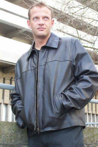 Higgs Leathers Justin (men's brown leather jackets)