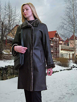 Higgs Leathers TWO ONLY SAVE £450! Marlena (ladies Merino Lambskin coat)