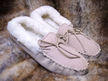 Higgs Leathers Mollie (ladies wool lined moccasins)