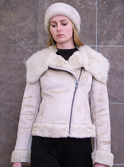 Higgs Leathers ALL SOLD!  Pingo (ladies Faux Sheepskin