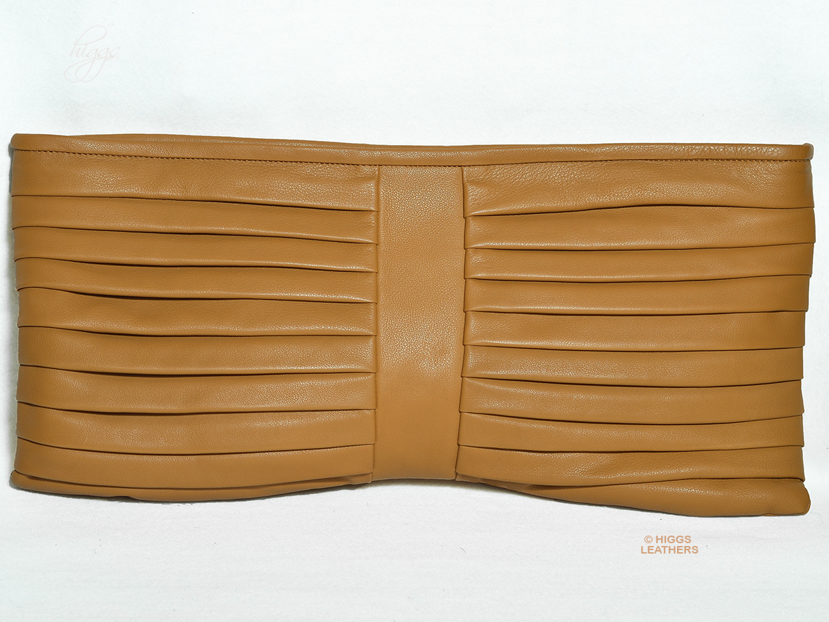 Higgs Leathers {ONE ONLY SAVE £140!}  Moritz (ladies Designer leather clutch bag)