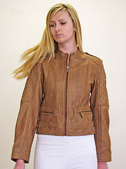 Higgs Leathers NEW  Rula (ladies quilted leather bikers jackets)