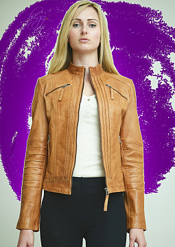 Higgs Leathers Trudie (ladies Leather Biker jackets)