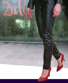 Higgs Leathers ALL SOLD!  Dilly (ladies close fitting leather trousers)