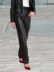 Higgs Leathers Jenetta (ladies HOME MADE Leather jeans)