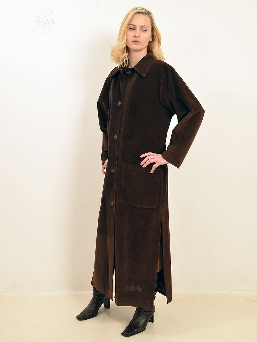 Higgs Leathers {UNDER HALF PRICE SAVE £300!}  Martina (Designer Suede coat)