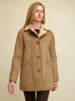 Higgs Leathers NEW STOCK SAVE £50!  Andreana (ladies classic Shearling coats)