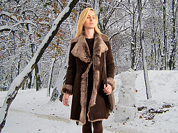 Higgs Leathers ALL SOLD!  Angela (women's fitted Toscana Shearling coats)