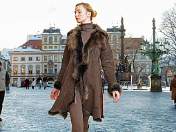 Higgs Leathers Angela (ladies Bronzetip Toscana coats)