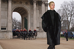 Higgs Leathers Caroline (ladies Black Merino Lambskin coats)
