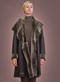 Higgs Leathers Caroline (ladies hooded Nappa Merino coats)