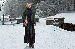 Higgs Leathers TWO ONLY SAVE £400!  Justine (ladies Merino Lambskin coats)