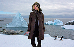Higgs Leathers Mariette (ladies hooded Merino Shearling coat)