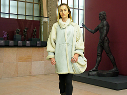 Higgs Leathers ONE ONLY - SAVE £300!  Romanas (ladies Designer Shearling coat)