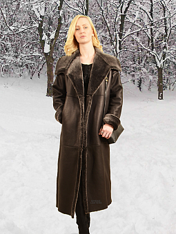 Higgs Leathers NEW!  Shevetta (ladies Nappa Merino Shearling coat)