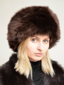 Higgs Leathers Diva (ladies Brown Sheepskin Cossack hats)