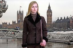 Higgs Leathers SAVE £100!  Annie (ladies Merino Lambskin jackets)