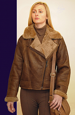 Higgs Leathers Aviana (ladies Sheepskin Aviator Jackets)