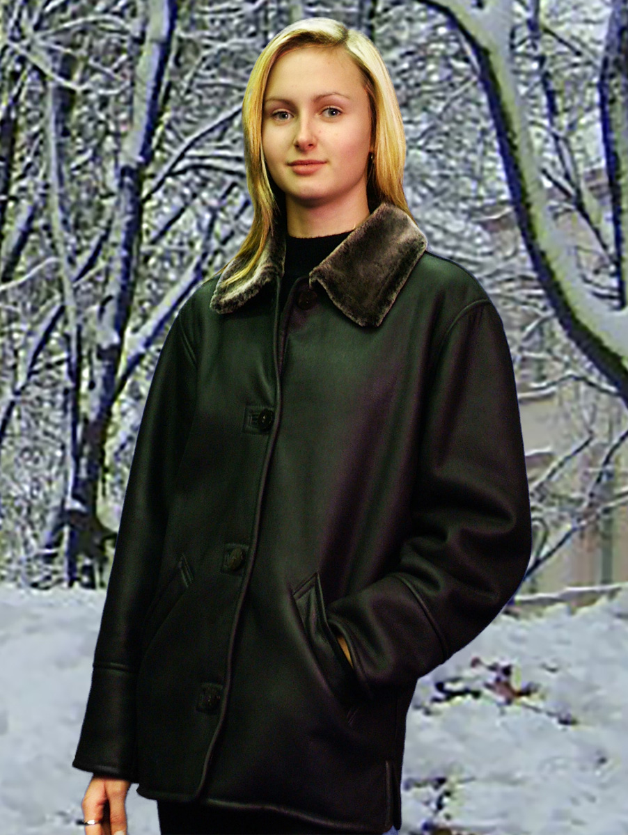 Higgs Leathers Boxy (ladies Merino Shearling long jackets) Practical - Comfortable - Gorgeous - all rolled into one!