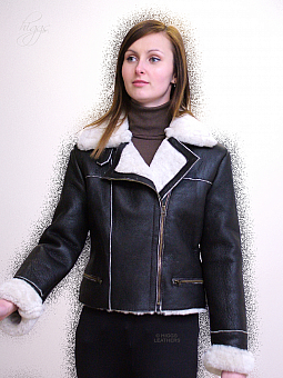 Higgs Leathers {ALL SOLD!}  Hythe (ladies Sheepskin Flying jackets) SOLD! LAST ONE - SIZES 34' BUST