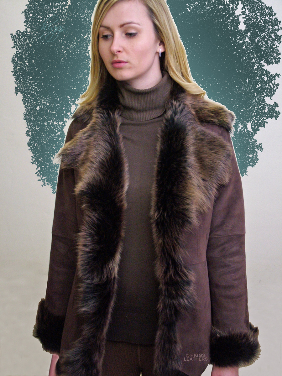 Higgs Leathers {SOLD! SAVE £150!}  Veronique (ladies Toscana jackets) ONE ONLY REDUCED TO £495!