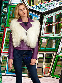 Higgs Leathers {}  Omega (ladies Lambskin gilets) Wonderful value!