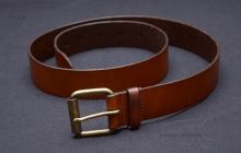 Higgs Leathers Style 84042 (men's Antique Tan Leather belts)