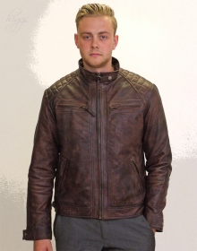 Higgs Leathers NEW STOCK!  Sergei (men's Budget Leather Bikers jackets)