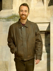 Higgs Leathers NEW PICTURE!  Charles (Brown Nubuck Leather jackets for men)