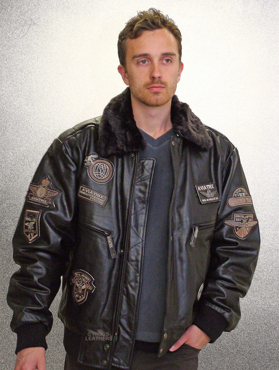 Higgs Leathers FEW ONLY!Marauder (men's Leather Flying jackets) LAST ONE AT THIS PRICE!