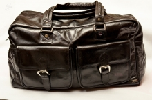 Higgs Leathers ALL SOLD! Aintree (Dark Brown Leather overnight bags)