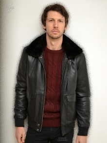 Higgs Leathers NEW STOCK!  Avenger (A2 Leather Bomber  jackets for men)