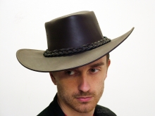 Higgs Leathers LAST FEW!  Stetson (Leather Cowboy hats for men)