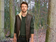 Higgs Leathers NEW PICTURE!  Lancaster  (Sheepskin body warmers/vests for men)