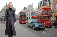 Higgs Leathers Chloris (ladies long Black Leather coats) ALL SOLD!