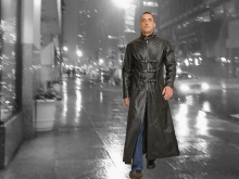Higgs Leathers LAST ONE!  Morpha (men's Black Leather Gothic coats)