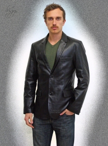 Higgs Leathers Palmer  (Retro style leather jackets for men)