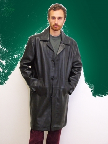 Higgs Leathers NEW!  Spencer (men's heavy quality Leather coats)