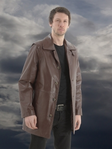 Higgs Leathers Special Quality!  Toby (men's Designer Leather jacket)