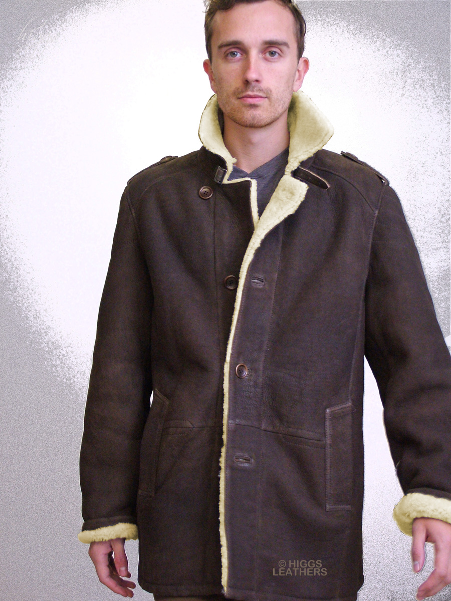 Higgs Leathers {ALL SOLD!}  Uberto (men's Sheepskin Designer jackets) New Generation Men's Sheepskin jackets!