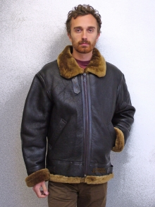 Higgs Leathers SAVE £60!  Gunner (men's Sheepskin flying jackets)