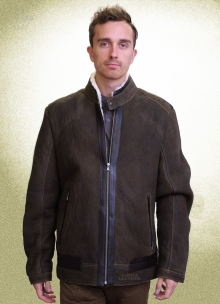 Higgs Leathers NEW!  Ulrik (men's Designer Sheepskin jackets)